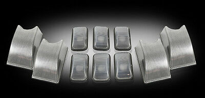 2003-09 Hummer H2 CLEAR Cab Roof Lights Lenses - Set of 10 w/ Bulbs - DOT/SAE+