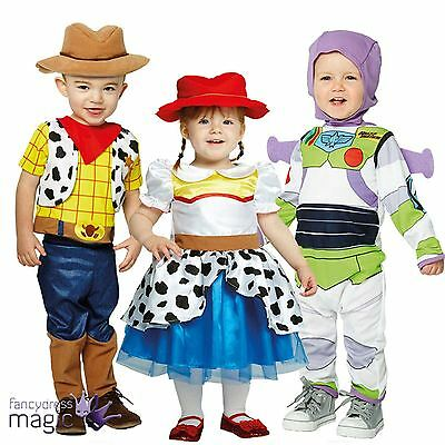 Childs Toddler Boys Girls Disney Toy Story Movie Book Week Fancy Dress Costume