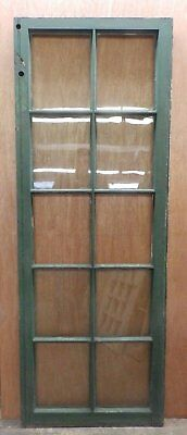 Antique Casement French Door Window Vintage 24x65 491-17R