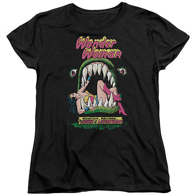 Wonder Woman Comic Cover JAWS OF THE LEVIATHAN Women's T-Shirt All Sizes