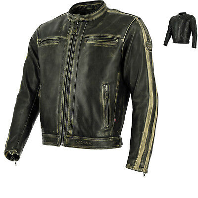 Richa Goodwood Leather Motorcycle Jacket Thermal CE Approved Armour Motorbike