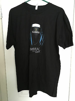 Mens Extra Large Guinness Embrace The Dark T-Shirt