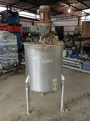 Viatec 65 Gallon SS Jacketed Mixing Process Tank w/ Agitator 1/2HP 1725RPM