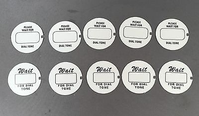 Western Electric Dial Cards - 10 Pack - Best on the Market! - SKU - 21595 - #1