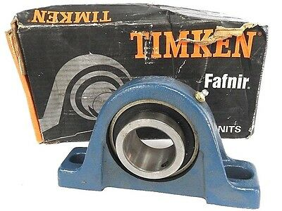 Timken Fafnir Rsao 1-11/16 Bearing Pillow Block 1-11/16 Bore 2Bolt Rsa01-11/16