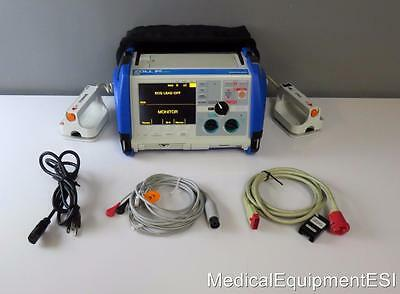 ZOLL M Series 3 Lead ECG AED Pacing Analyze Xtreme Case Hard Paddles