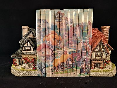 David Winter Books and Cottage & Wood Bookends ~ NEW~ British Traditions Stories