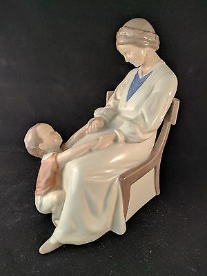 "Bing & Grondahl 1642 Mother & Child B&G Dickies Mama 9"" Royal Copenhagen"