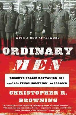 Ordinary Men - Browning, Christopher R. - New Paperback Book