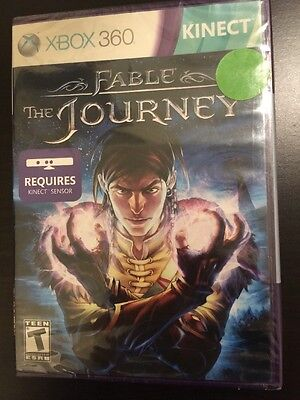 Brand New Factory Sealed Fable The Journey XBOX 360