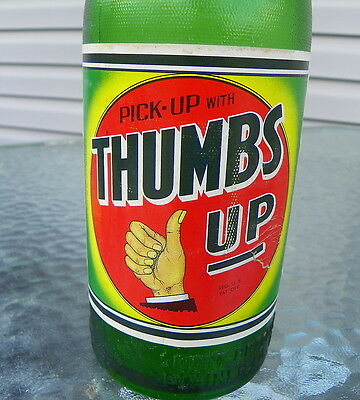 Thumbs Up Soda Paper Label Bottle Rare  Wow! Squirt Bottling Co.