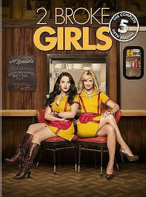 2 Broke Girls:The Complete Fifth Season 5 Five (DVD, 2016, 3-Disc Set) Brand New