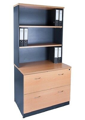 Filing cabinets and Hutch  900w  / Shelving & Storage / Home Office Furniture