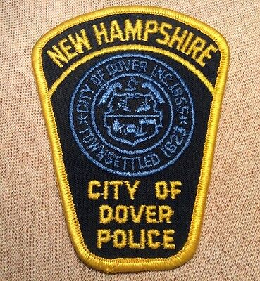NH City of Dover New Hampshire Police Patch