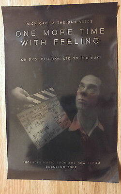 Music Movie Poster Promo Nick Cave & The Bad Seeds - One More Time With Feeling