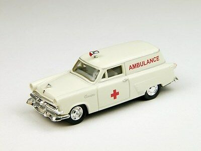 """Ho Scale: 1953 Ford """"courier"""" - """"ambulance"""" - Classic Metal Works - 30295"""