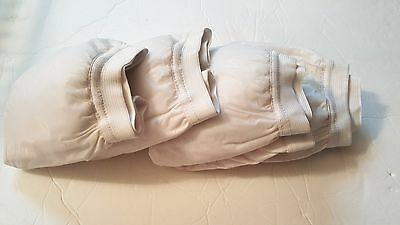 Plastic Pants for Cloth Diapers Cover, Washable, Size 2, Padded, Qty: 4