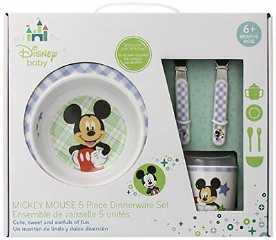 Kids Preferred Disney Baby Melamine Set Mickey Mouse 79903