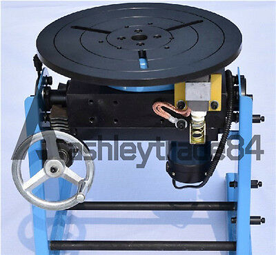30KG Welding Positioner Turntable Timing with 300mm Chuck 110V New