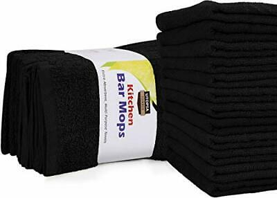 """Kitchen Bar Mop 12 Pack Cleaning Towels 16x19"""" Cotton Rags by Utopia Towels"""