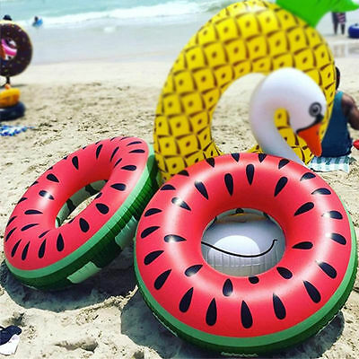 Giant Fun Watermelon Inflatable Swimming Pool Water Toy Float Raft Swim Ring 120