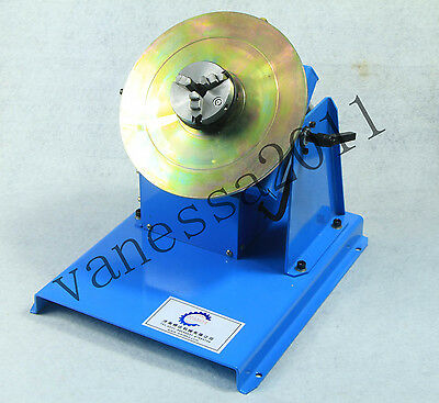 NEW 2-18RPM 10KG Light Duty Welding Turntable Positioner with 65mm Chuck