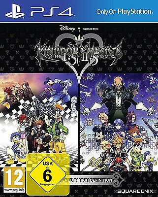 KINGDOM HEARTS HD 1.5 + 2.5 ReMIX PlayStation 4 Neu OVP