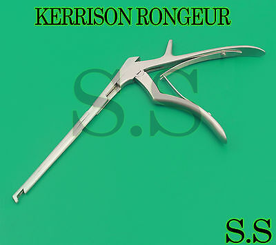 """Kerrison Laminectomy Rongeur 7"""" 4Mm 45 Degree Down Bite Stainless Steel"""