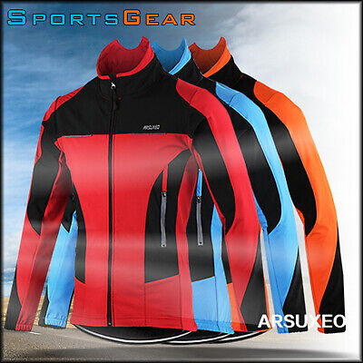 Winter Breathable QuickDry Long Sleeve Thermal Cycling Jacket Bike Riding Winter