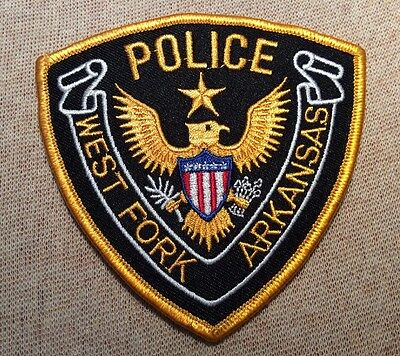 AR West Fork Arkansas Police Patch