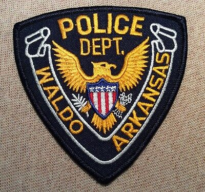 AR Waldo Arkansas Police Patch