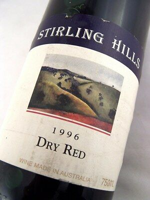 1996 STIRLING HILLS Dry Red Blend Isle of Wine