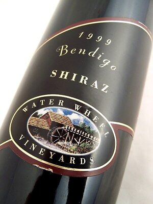 1999 WATER WHEEL Vineyards Shiraz Isle of Wine