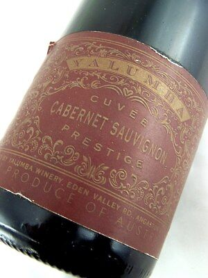 1996 circa NV YALUMBA Cuvee Cabernet Prestige Sparkling Red Isle of Wine