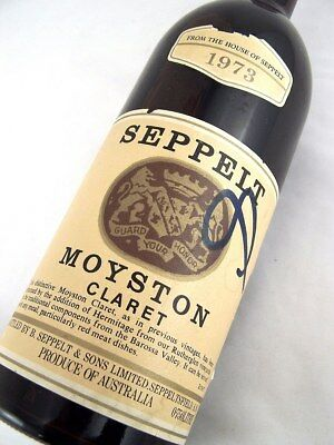 1973 SEPPELT Moyston Claret Red Blend Isle of Wine