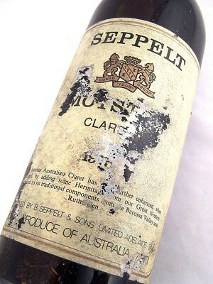 1975 SEPPELT Moyston Claret Red Blend C Isle of Wine