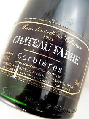 1995 CHATEAU FABRE Corbieres Red Blend Isle of Wine
