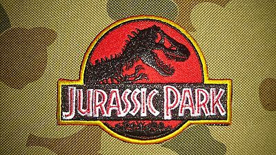 Brand New Jurassic Park Airsoft Tactical Morale Patch Hook Loop Australia Seller