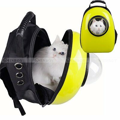 Pet Dog Cat Carrier Backpack Small Puppy Travel Astronaut Capsule Portable Bag