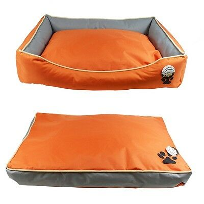 Large Waterproof Dog Pet Cat Bed Mat Cushion Pillow Or Double Sided Mattress