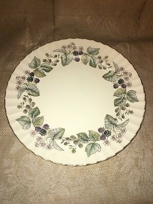 "Lavinia Royal Worcester Bone China  England  10 5/8"" DINNER PLATE"