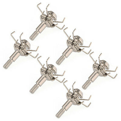 6pcs Paw Points Silver Blunt Tips Judo Broadheads Arrow heads 100grn For Hunting