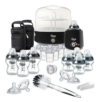 Tommee Tippee Closer to Nature Complete Feeding Set in Black
