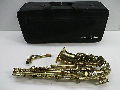 Mannheim Alto Saxophone with Soft Carrying Case