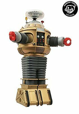 Lost In Space Electronic Lights & Sounds B9 Robot Golden Boy Edition - FREE SHIP