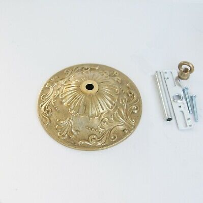 "Solid Cast Brass Ceiling Canopy with Hardware Diameter 5-3/8""  For Chandelier"
