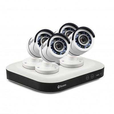 Swann DVR8-5000 - 2 TB Home Smart Security System CCTV with 4 x 1080p Cameras