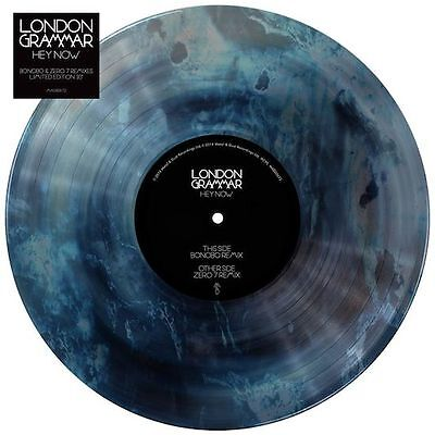 "London Grammar Hey Now Vinile 10"" Colorato Nuovo Record Store Day 2014 Nuovo"