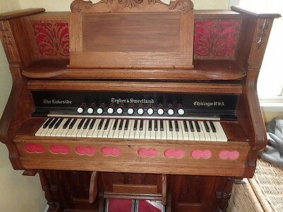 Fully Functioning Tryber and Sweetland Pump Organ