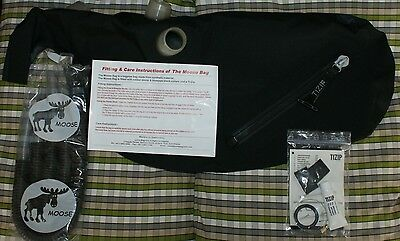 Moose synthetic bag side zip tubes highland bagpipes pipes small medium or large